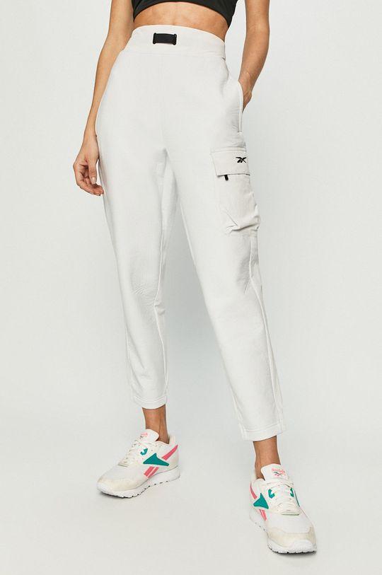 biały Reebok - Spodnie Damski