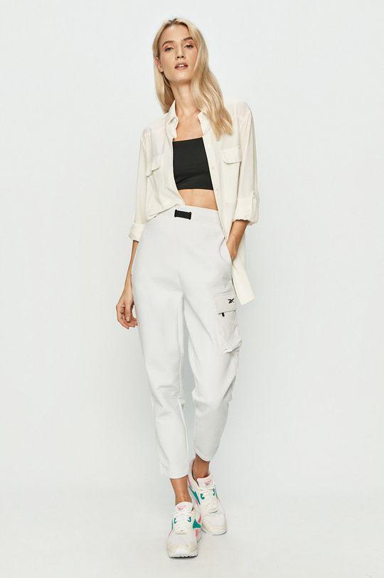 Reebok - Spodnie biały