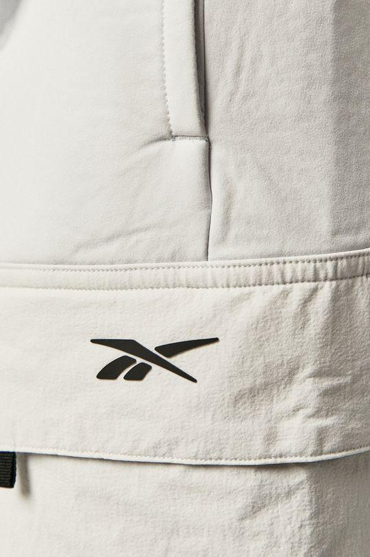 biały Reebok - Spodnie