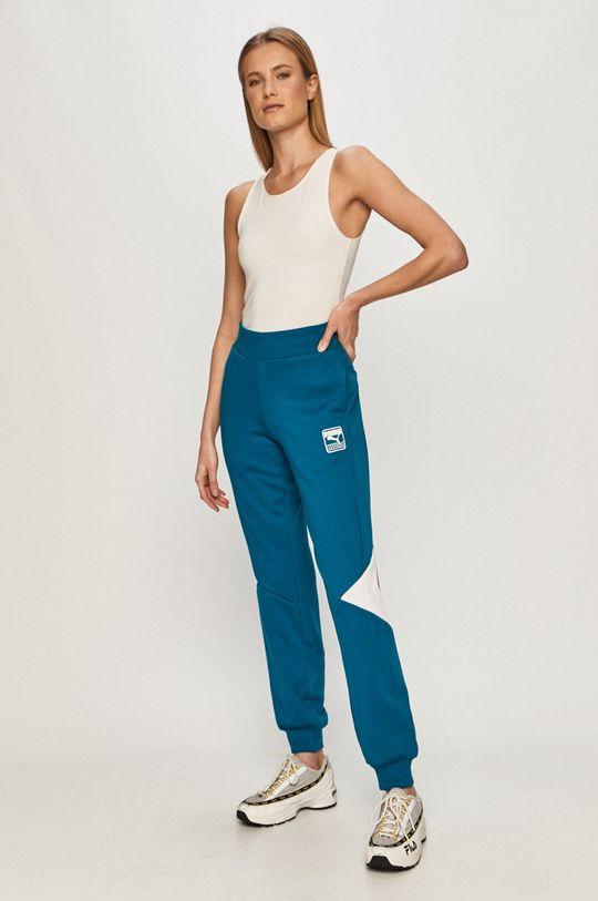Puma - Spodnie niebieski