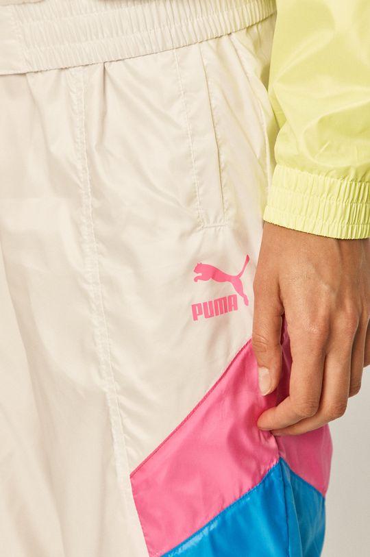 biały Puma - Spodnie