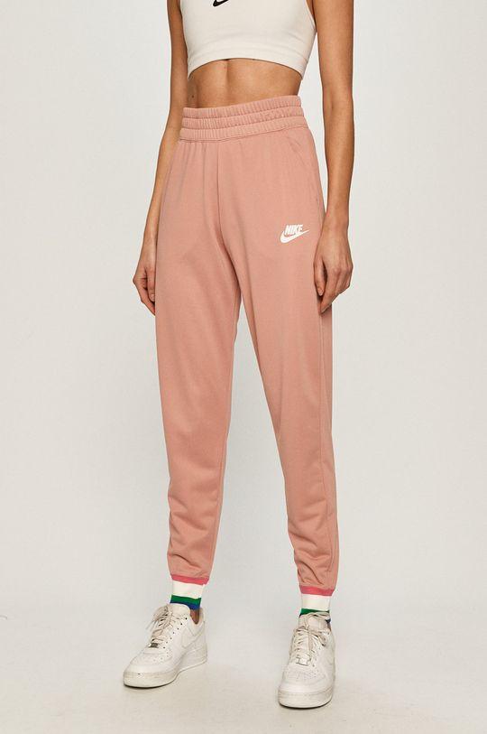 starorůžová Nike Sportswear - Kalhoty Dámský