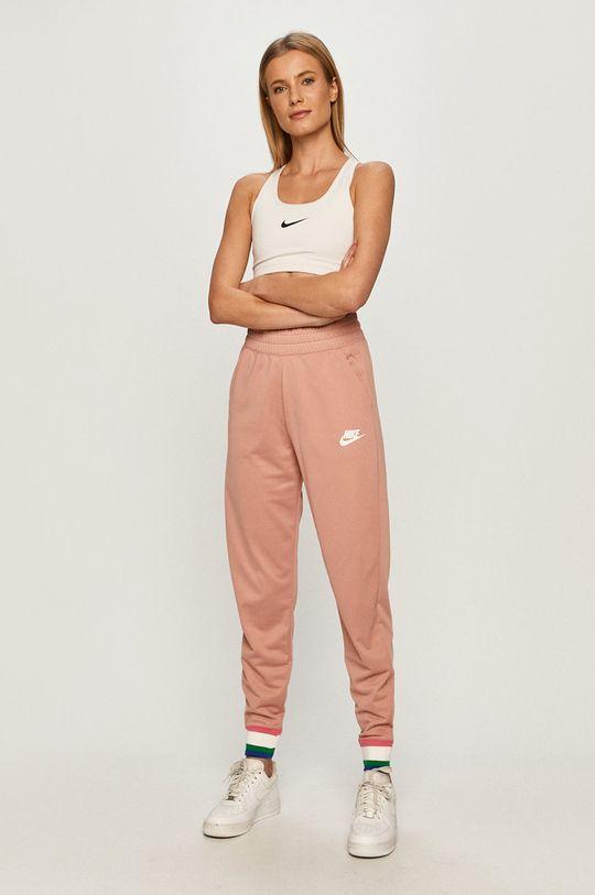 Nike Sportswear - Kalhoty starorůžová