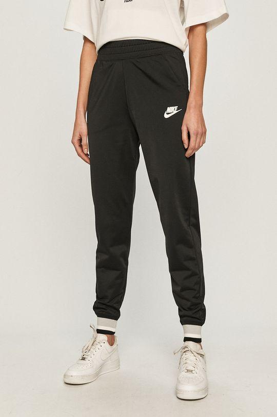 czarny Nike Sportswear - Spodnie Damski