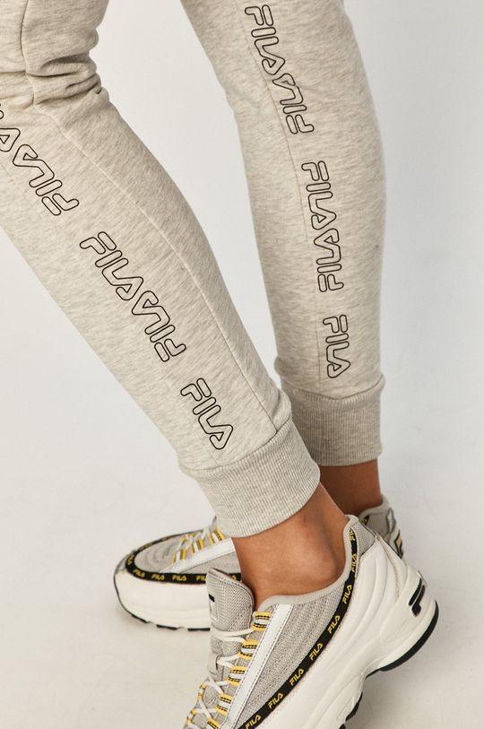 jasny szary Fila - Spodnie