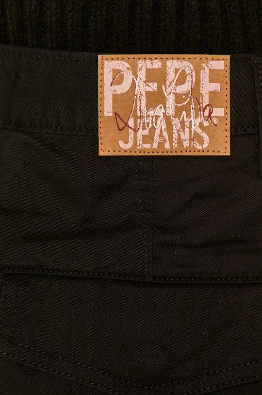 černá Pepe Jeans - Kalhoty Shadow x Dua Lipa