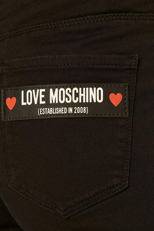 čierna Love Moschino - Nohavice