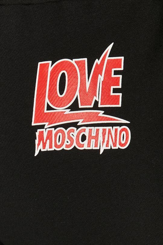 negru Love Moschino - Pantaloni
