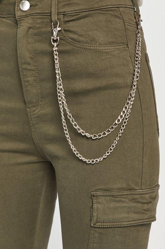 oliwkowy Tally Weijl - Spodnie