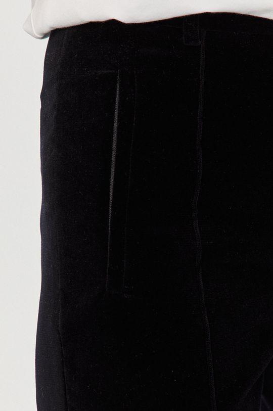 granatowy Sportmax Code - Spodnie