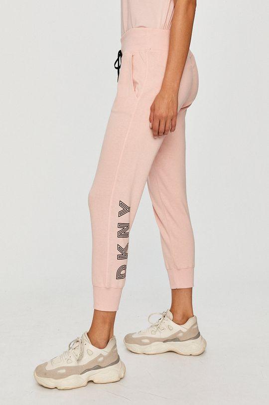 różowy Dkny - Spodnie Damski