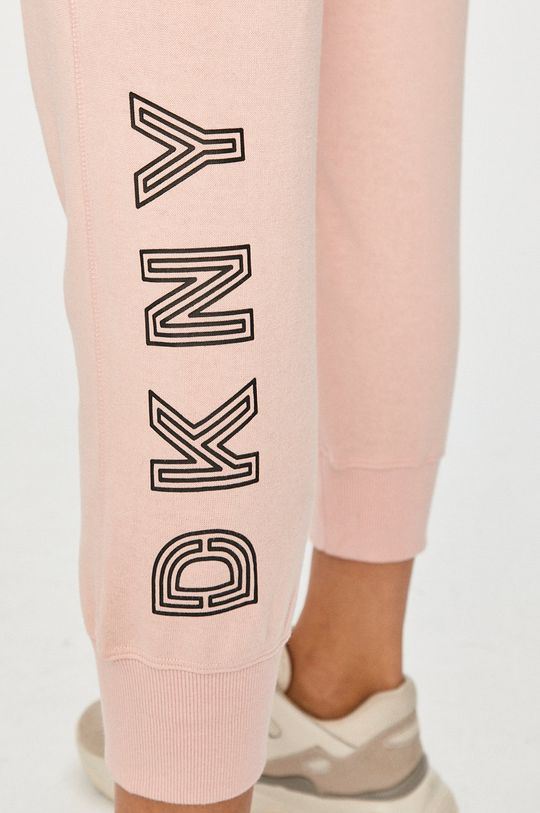 różowy Dkny - Spodnie