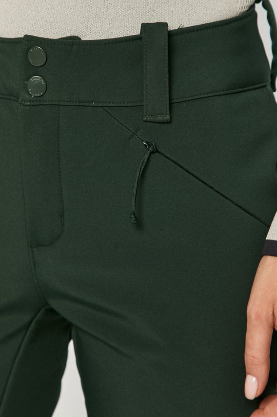 ciemny zielony Columbia - Spodnie snowboardowe