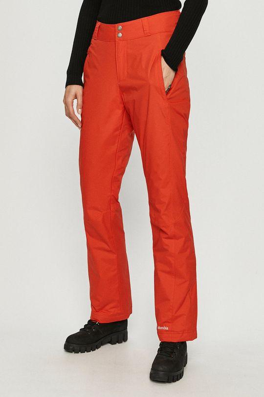 pomarańczowy Columbia - Spodnie snowboardowe Damski