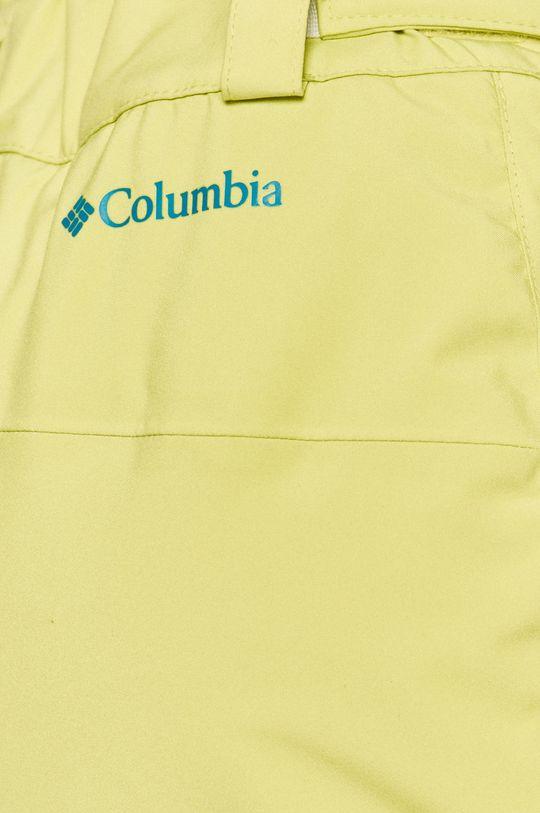 żółto - zielony Columbia - Spodnie