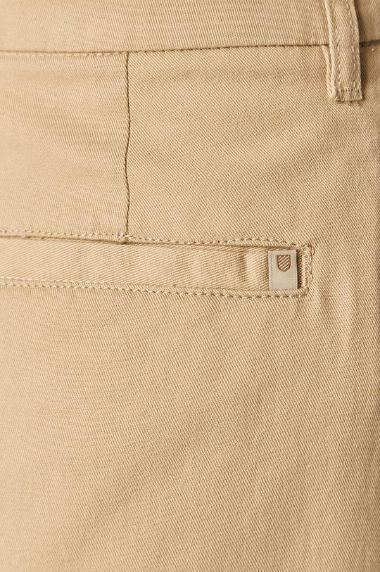 kremowy Brixton - Spodnie