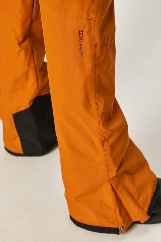oranžová Billabong - Snowboardové kalhoty