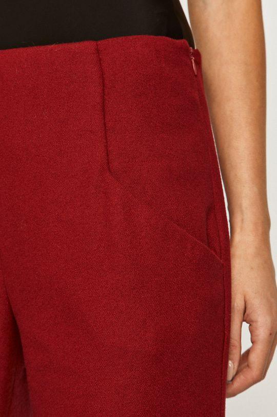 červená Stefanel - Kalhoty
