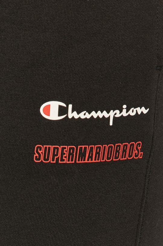 czarny Champion - Spodnie x Super Mario Bros
