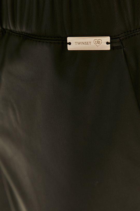 černá Twinset - Kalhoty