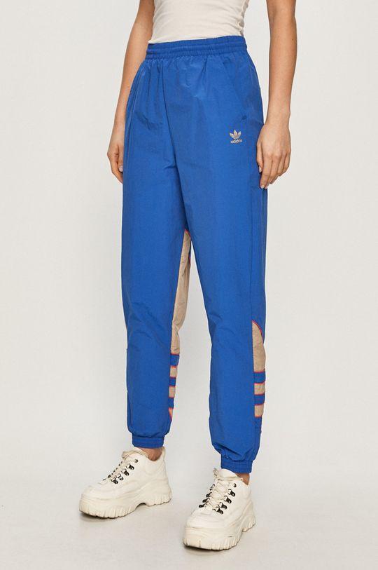 niebieski adidas Originals - Spodnie Damski
