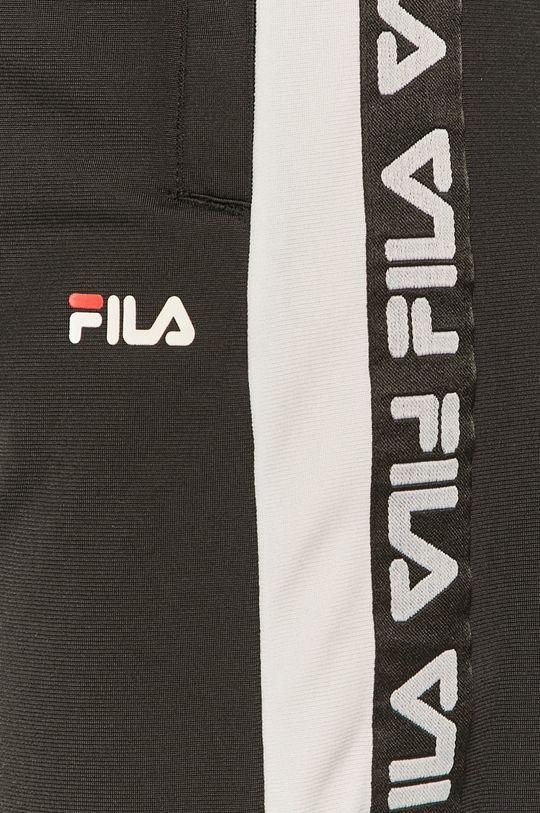 czarny Fila - Spodnie