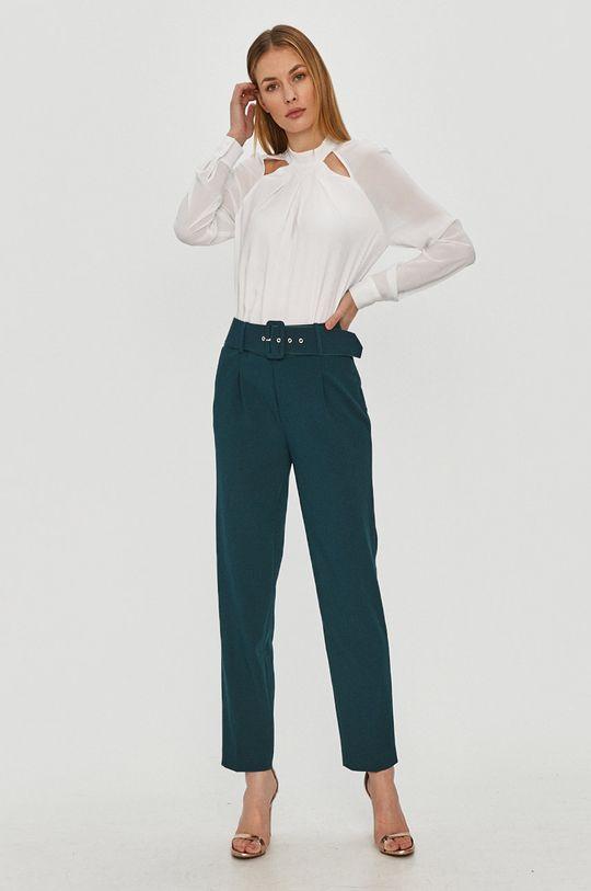 Morgan - Spodnie ciemny turkusowy
