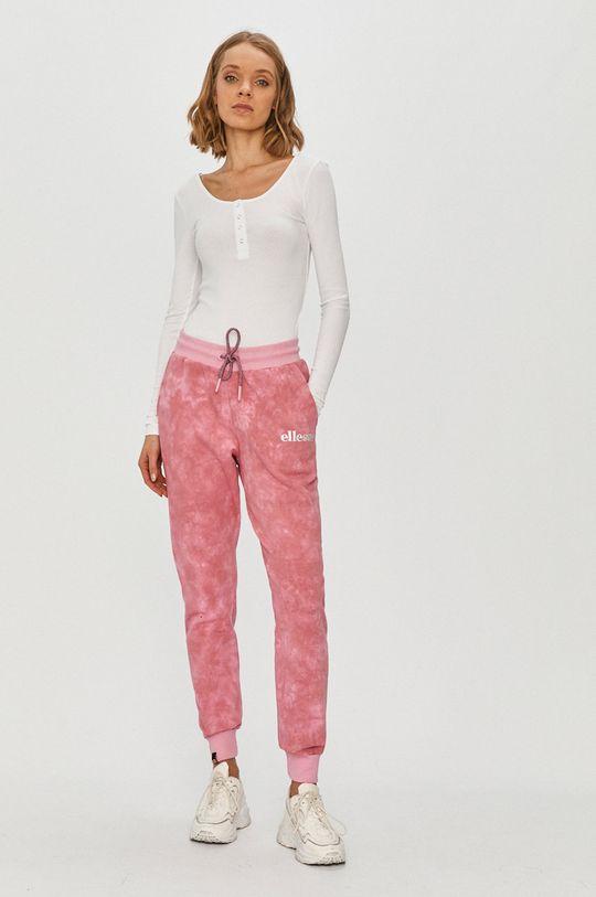 Ellesse - Spodnie różowy