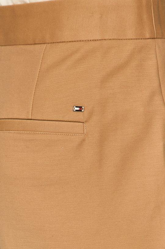 béžová Tommy Hilfiger - Kalhoty