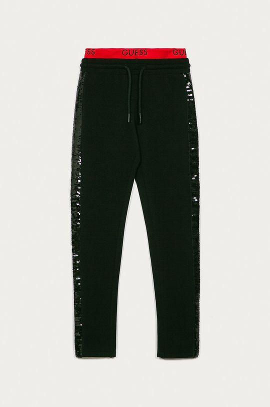 czarny Guess Jeans - Spodnie dziecięce 116-175 cm Dziewczęcy