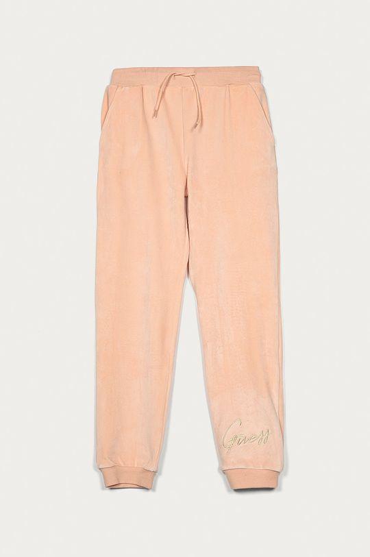 różowy Guess Jeans - Spodnie dziecięce 116-175 cm Dziewczęcy