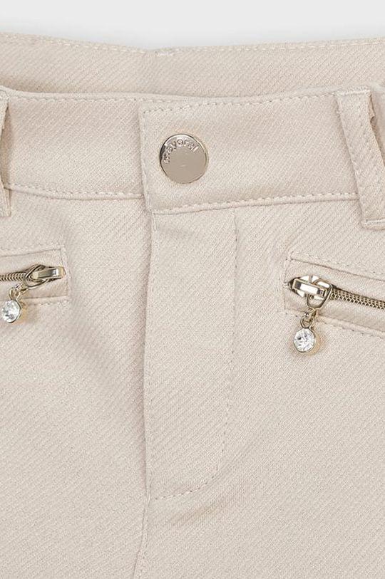 svetlobéžová Mayoral - Detské nohavice 110-134 cm