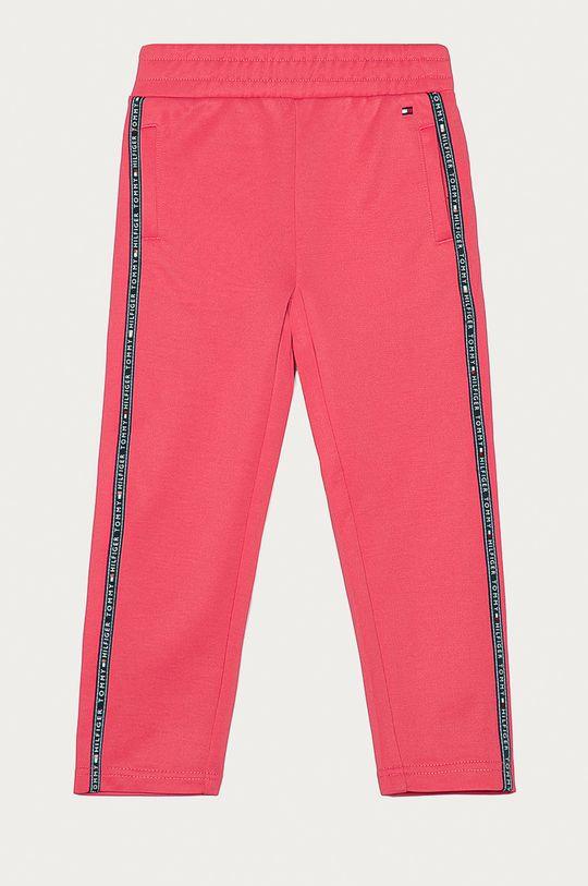 różowy Tommy Hilfiger - Spodnie dziecięce 122-176 cm Dziewczęcy