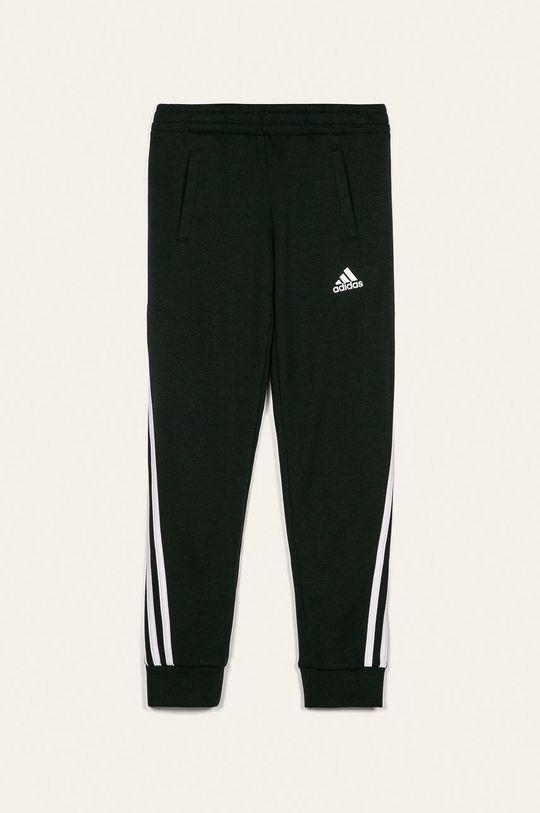 černá adidas Performance - Kalhoty 116-170 cm Dívčí