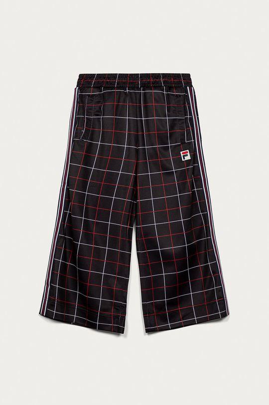 černá Fila - Dětské kalhoty 134-164 cm Dívčí