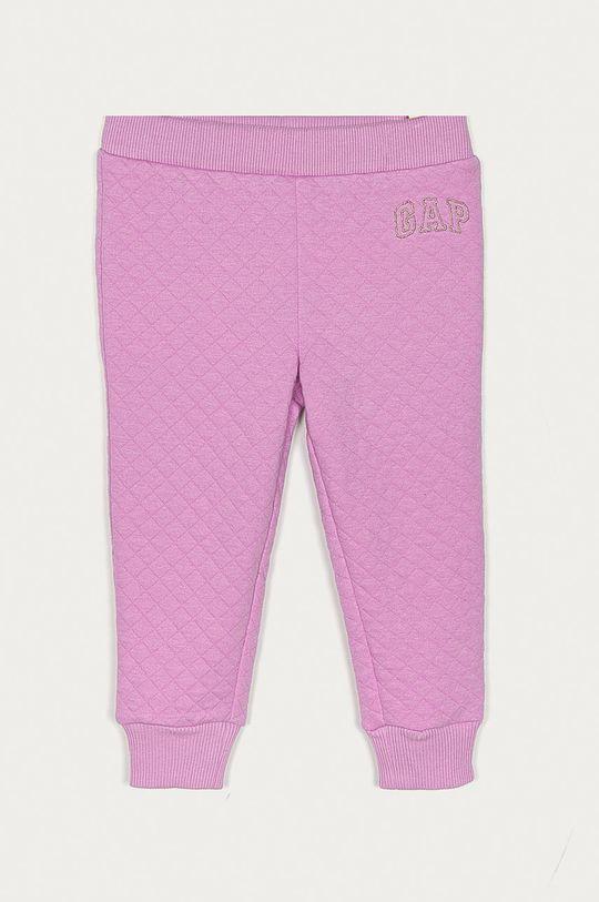 purpurowy GAP - Spodnie dziecięce 80-110 cm Dziewczęcy