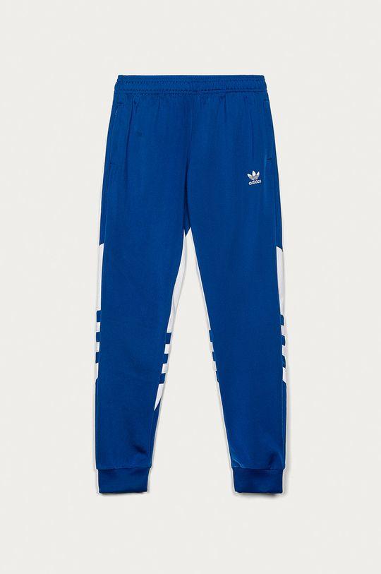 niebieski adidas Originals - Spodnie dziecięce 128-164 cm Dziecięcy