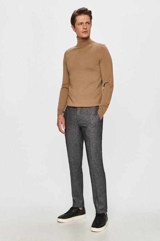 Tommy Hilfiger Tailored - Kalhoty šedá