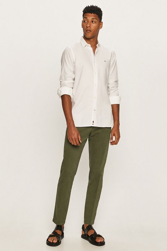 Tommy Hilfiger Tailored - Spodnie zielony