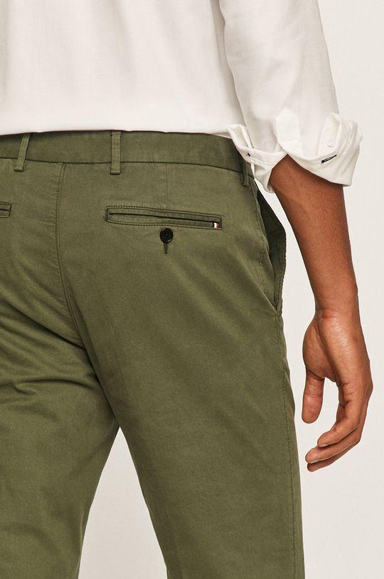 zielony Tommy Hilfiger Tailored - Spodnie
