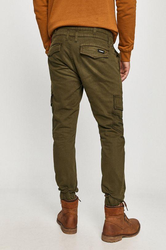 Desigual - Spodnie 100 % Bawełna