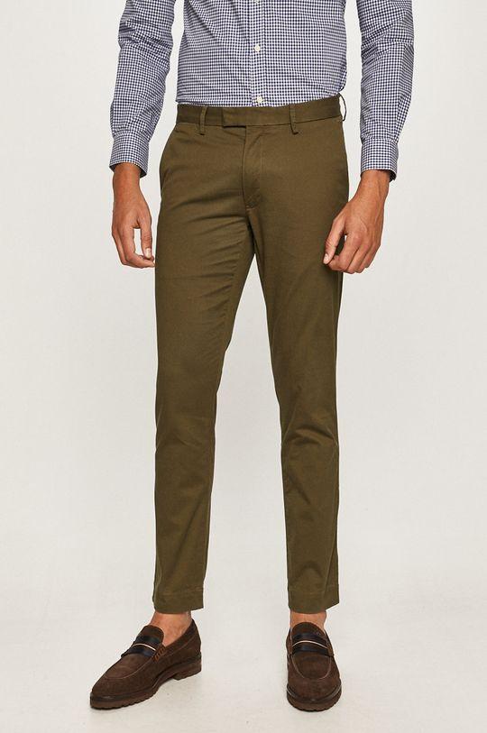olivová Polo Ralph Lauren - Kalhoty Pánský