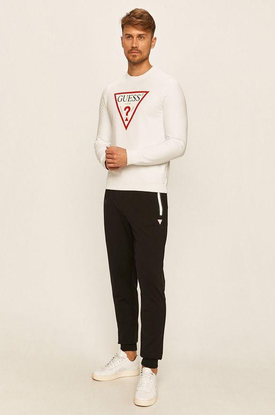 Guess Jeans - Kalhoty černá