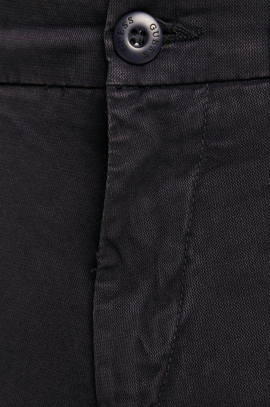 granatowy Guess Jeans - Spodnie