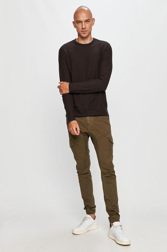 Guess Jeans - Kalhoty khaki