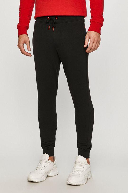 černá Guess Jeans - Kalhoty Pánský