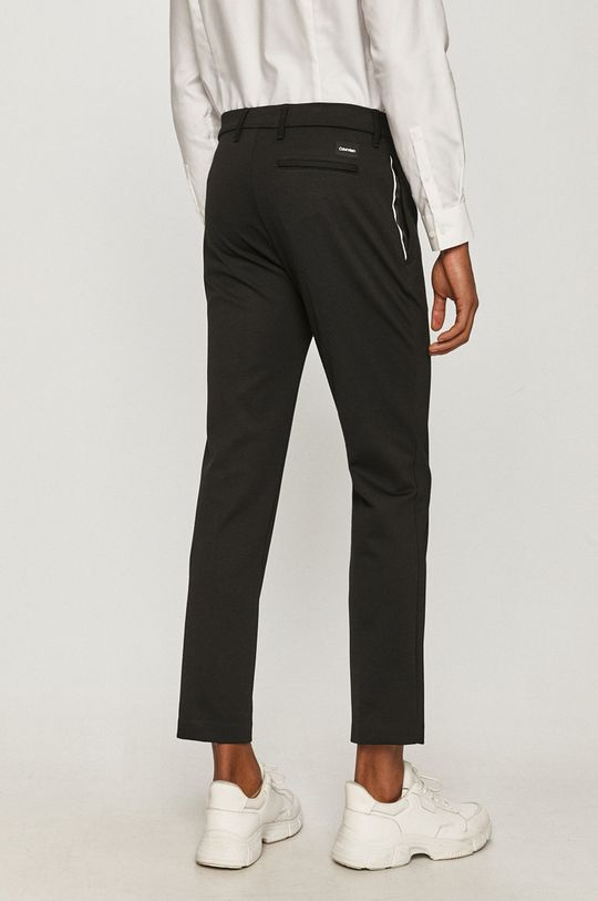 Calvin Klein - Nohavice  2% Elastan, 74% Polyester, 24% Viskóza