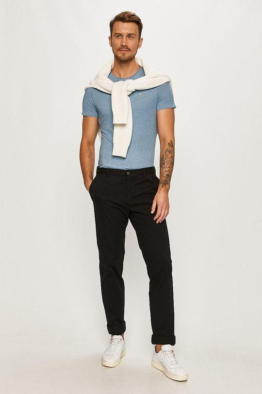 Tommy Hilfiger Tailored - Nohavice čierna