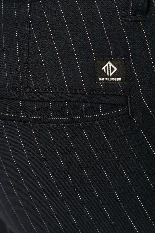 granatowy Tom Tailor Denim - Spodnie