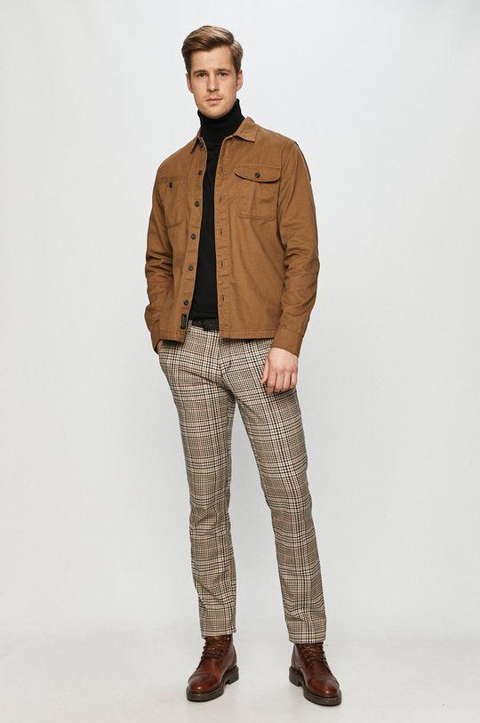 Tom Tailor Denim - Spodnie brązowy